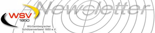Württembergischer Schützenverband: Headergrafik des Newsletters